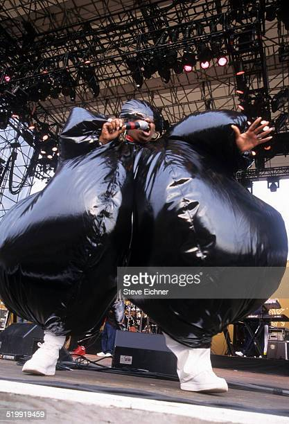 Missy Elliot performs at Lilith Fair at Jones Beach New York New York July 16 1998