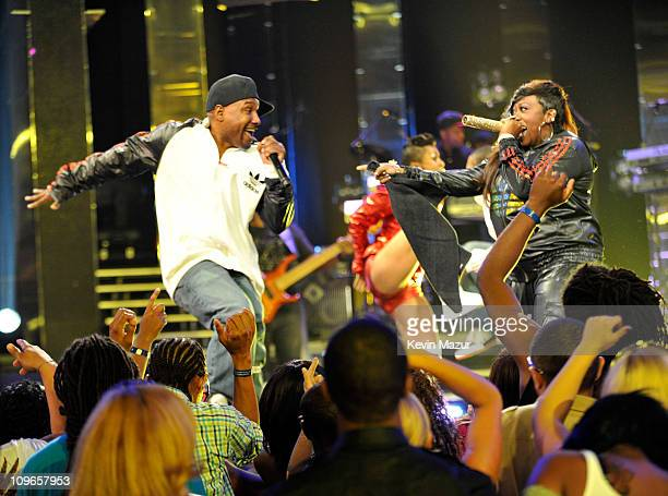 1 207 Missy Elliott In Concert Photos And Premium High Res Pictures Getty Images