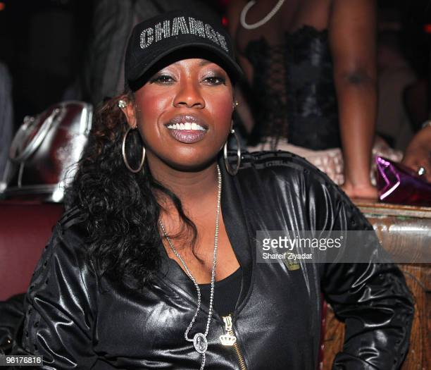 Missy Elliot seen at Pink Elephant on January 25 2010 in New York City