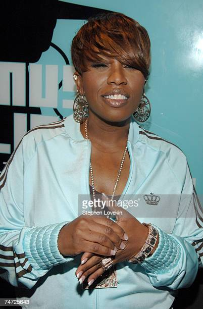 Missy Elliott at the MTV Studios in New York City New York