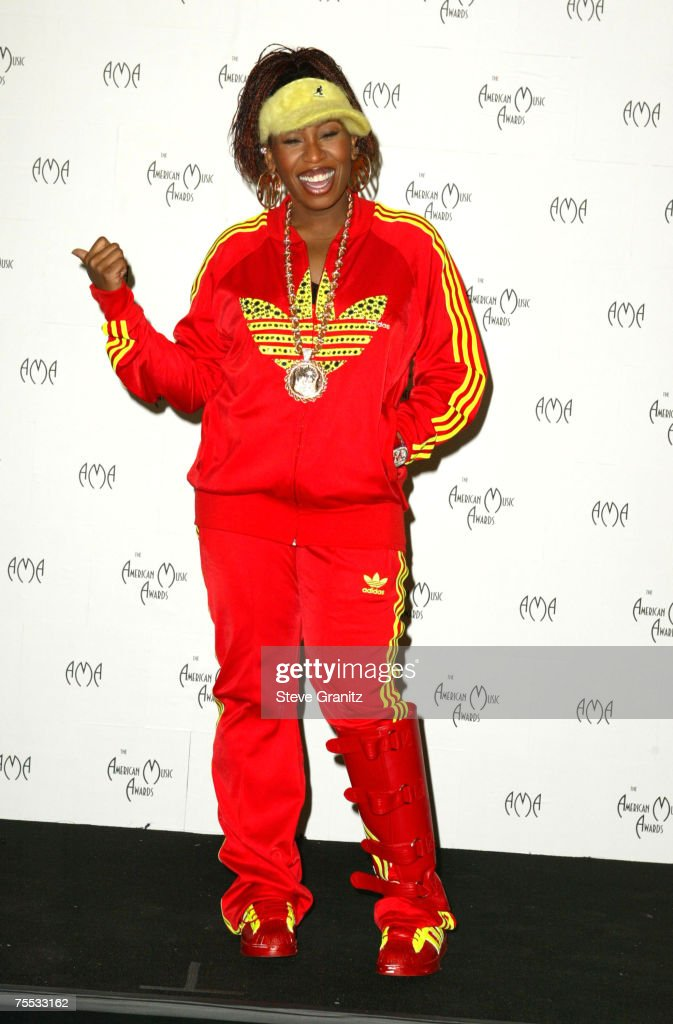 Missy Elliott at the Shrine Auditorium in Los Angeles, California