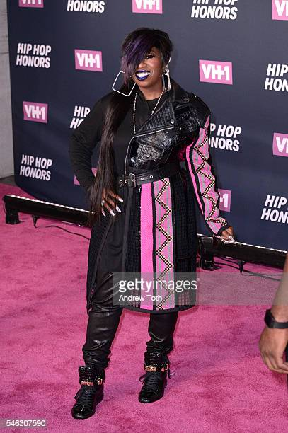 Missy Elliott attends the 2016 VH1 Hip Hop Honors All Hail The Queens at Hammerstein Ballroom on July 11 2016 in New York City