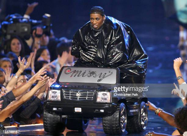 Missy Elliott during 2006 MTV Video Music Awards – Show at Radio City Music Hall in New York City New York United States