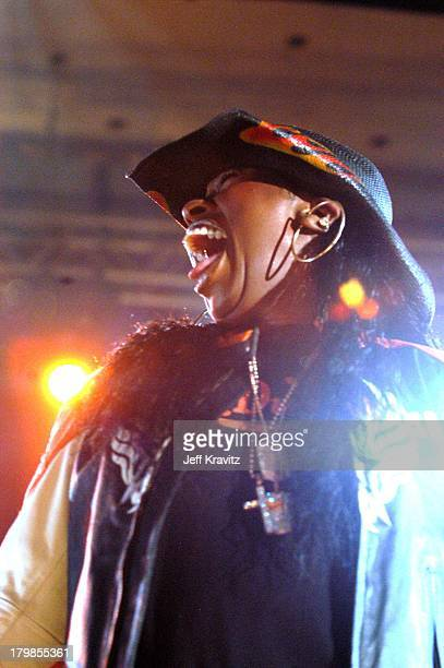 Missy Elliott during MTV2 2 Dollar Bill Concert with Missy Elliott and Tweet at Palladium in Hollywood California United States
