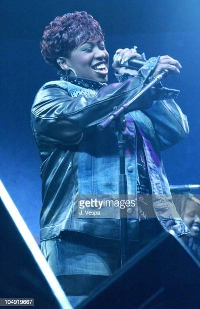 Missy Elliott during MTV2 Sisters For Hip-Hop & Soul Tour at Roseland Ballroom in New York City, New York, United States.