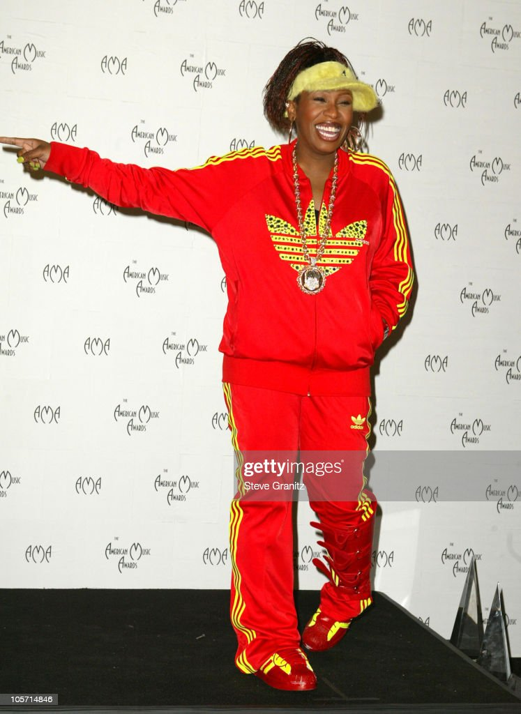 Missy Elliott during The 30th Annual American Music Awards - Press Room at Shrine Auditorium in Los Angeles, California, United States.