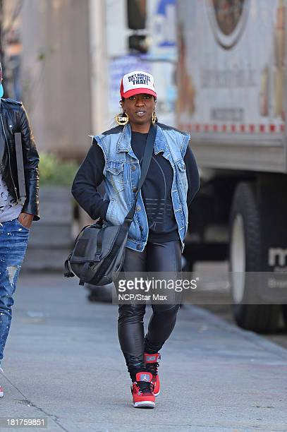 Missy Elliott is seen on September 24 2013 in New York City