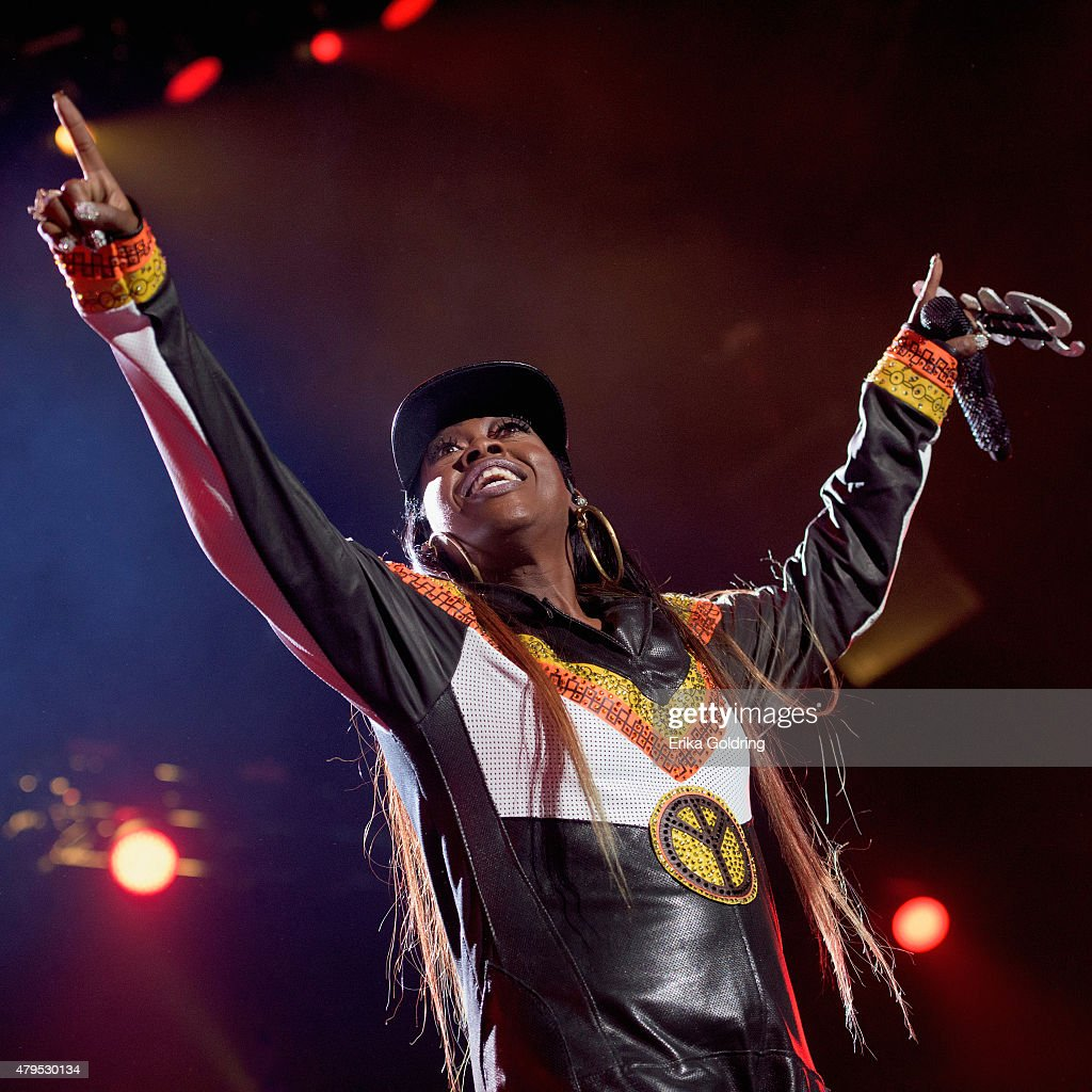 Missy Elliott performs at the 2015 Essence Music Festival on July 4, 2015 in New Orleans, Louisiana.
