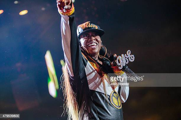 Missy Elliott performs at the 2015 Essence Music Festival on July 4 2015 in New Orleans Louisiana