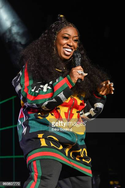Missy Elliott performs at the 2018 Essence Music Festival at the MercedesBenz Superdome on July 7 2018 in New Orleans Louisiana