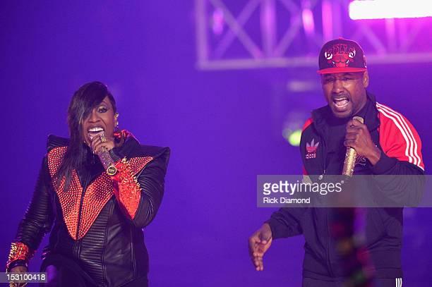 Missy Elliott performs onstage at the 2012 BET Hip Hop Awards at Boisfeuillet Jones Atlanta Civic Center on September 29, 2012 in Atlanta, Georgia.