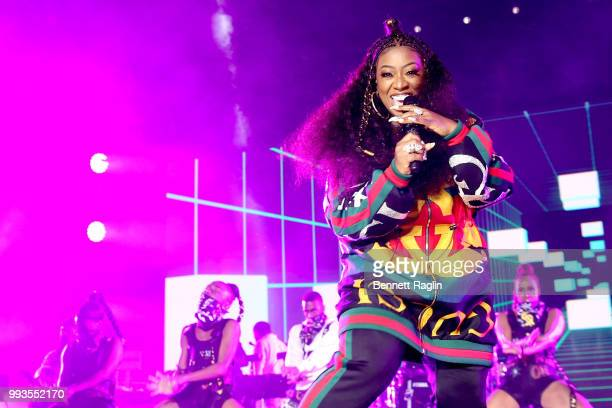 Missy Elliott performs onstage during the 2018 Essence Festival presented By CocaCola Day 2 at Louisiana Superdome on July 7 2018 in New Orleans...