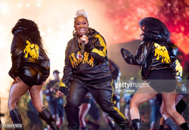 Missy Elliott performs onstage during the 2019 MTV Video Music Awards at Prudential Center on August 26 2019 in Newark New Jersey