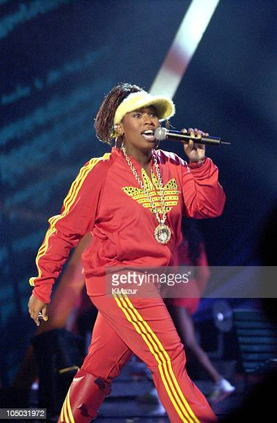 Missy Elliott performs 'Work It' at the 30th Annual American Music Awards