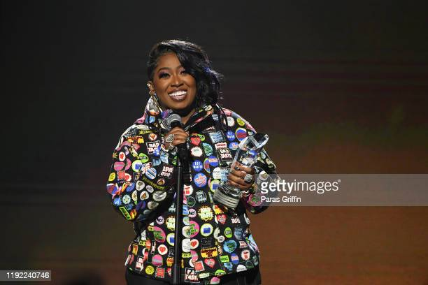 Missy Elliott speaks onstage during 2019 Urban One Honors at MGM National Harbor on December 05 2019 in Oxon Hill Maryland