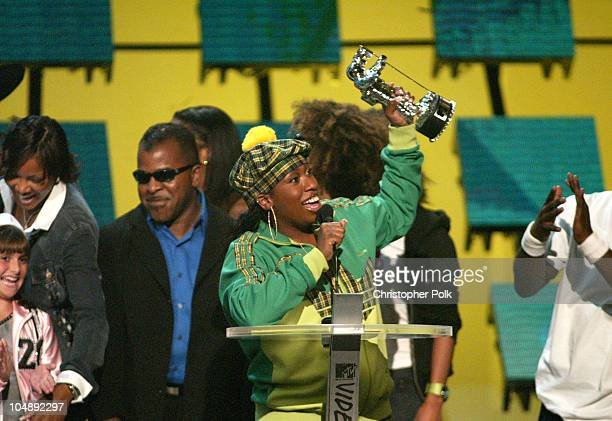 Missy Elliott winner of awards for Video Of The Year and Best HipHop Video at the 2003 MTV Video Music Awards