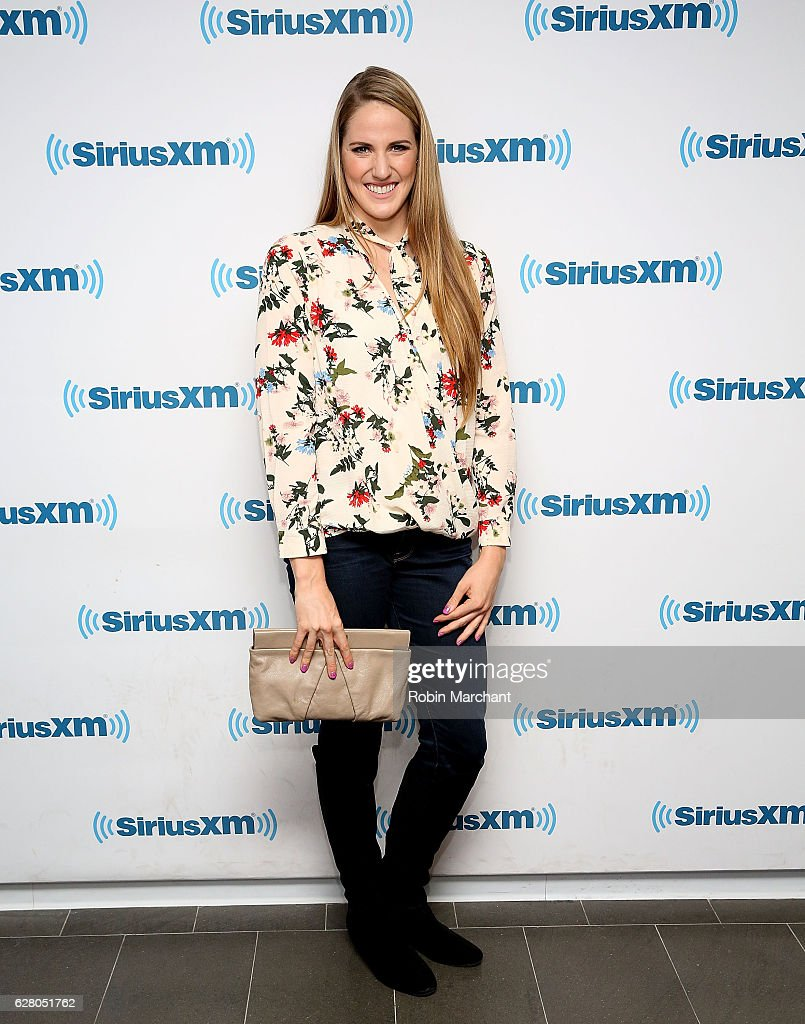 Missy Franklin visits at SiriusXM Studio on December 6, 2016 in New York City.