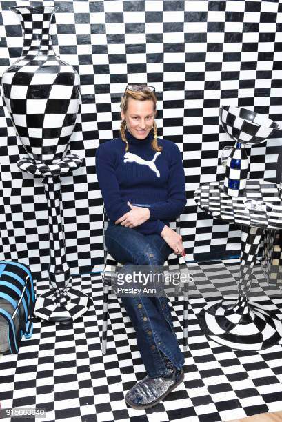 Missy Hargraves attends Leesa Rowland's Animal Ashram PopUp Penthouse on February 7 2018 in New York City