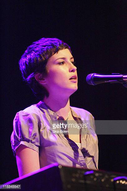 Missy Higgins during Liz Phair And Missy Higgins in Concert at the House of Blues in Hollywood November 7 2005 at House of Blues in Los Angeles...