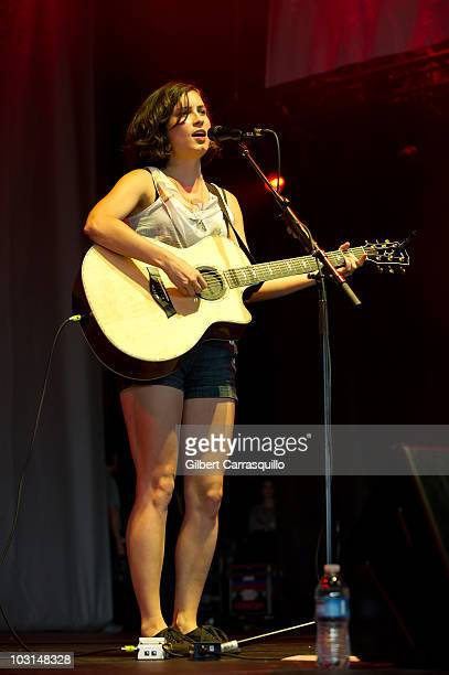 Missy Higgins performs during Lilith Fair at the Susquehanna Bank Center on July 28 2010 in Camden New Jersey