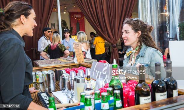 Missy Laney attends the Women Filmmakers Event during 2017 Los Angeles Film Festival at Festival Lounge on June 16 2017 in Culver City California