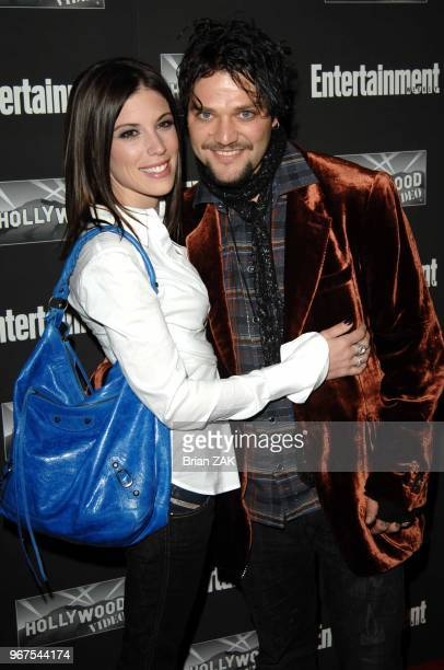 Missy Margera and Bam Margera arrive to Entertainment Weekly's New York Oscar Viewing Party held at Elaine's New York City BRIAN ZAK