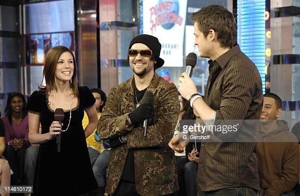 Missy Margera Bam Margera and MTV VJ Damien Fahey