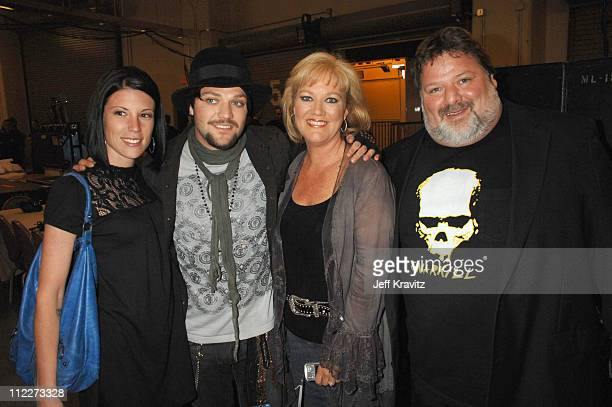 Missy Margera Bam Margera April Margera and Phil Margera