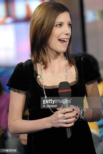 Missy Margera during Bam Margera and His Fiance Missy Visit MTV's TRL January 29 2007 at MTV Studios in New York City New York United States