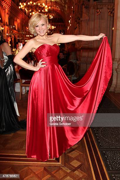 Missy May attends the 5th Filmball Vienna at City Hall on March 14 2014 in Vienna Austria