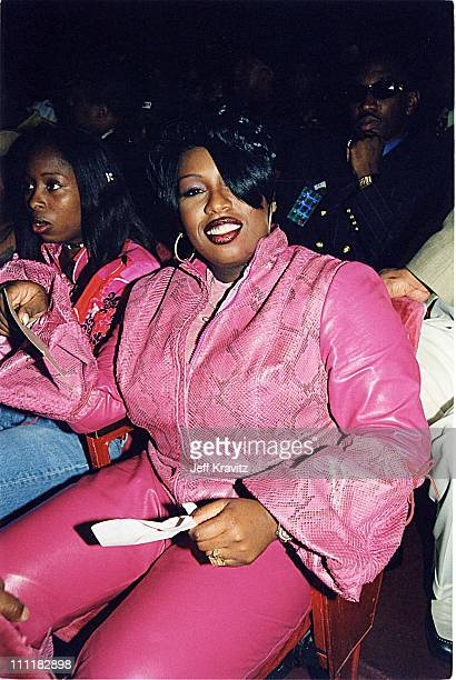 Missy 'Misdemeanor' Elliott during The 1999 Source HipHop Music Awards in Los Angeles California United States