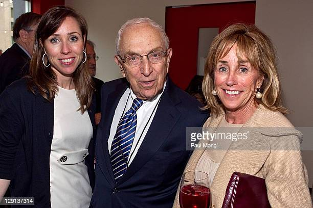 Missy Owens Biden Senator Frank Lautenberg and Valerie Biden attend the GRAMMYs on the Hill Awards at The Liaison Hotel on April 13 2011 in...