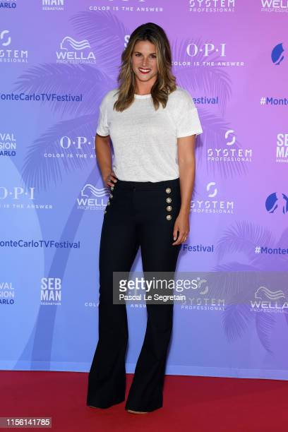 Missy Peregrym arrives at the 59th Monte Carlo TV Festival TV Series Party on June 15 2019 in MonteCarlo Monaco