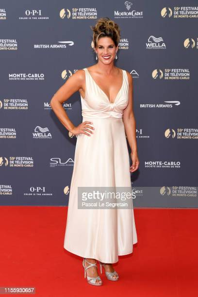 Missy Peregrym attends the opening ceremony of the 59th Monte Carlo TV Festival on June 14, 2019 in Monte-Carlo, Monaco.