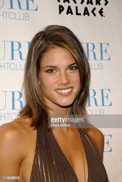 Missy Peregrym during Nelly Furtado Lets Loose at PURE Nightclub June 23 2007 at Pure Nightclub at Caesars Palace in Las Vegas Nevada United States