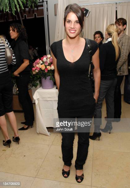 Missy Peregrym during Stuart Weitzman at the W Magazine PreGolden Globe Party at Sunset Towers in West Hollywood California United States