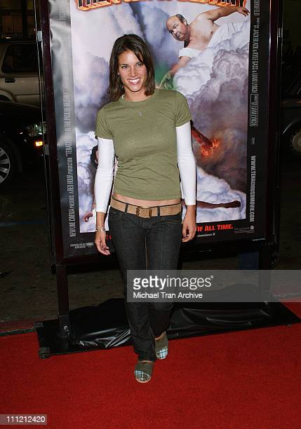 Missy Peregrym during 'Tenacious D in the Pick of Destiny' Los Angeles Premiere Arrivals at Grauman's Chinese Theatre in Hollywood California United...