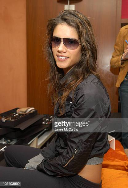 Missy Peregrym during The Lucky/Cargo Club An Upfront Week Hospitality Suite Day 2 at Le Parker Meridien in New York City New York United States