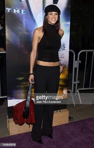 Missy Peregrym during The WB Network AllStar Celebration Arrivals at The Highlands in Hollywood California United States