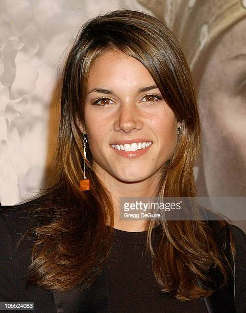 Missy Peregrym during Warner Bros Pictures' 'North Country' Los Angeles Premiere Arrivals at Grauman's Chinese Theatre in Hollywood California United...