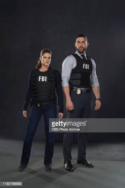 Missy Peregrym Zeeko Zaki in FBI on the CBS Television Network