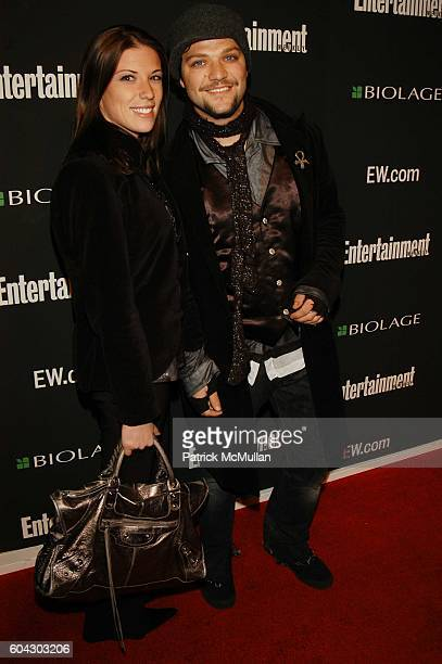 Missy Rothstein and Bam Margera attend Academy Awards viewing party at Elaine's at Elaine's NYC USA on March 5 2006