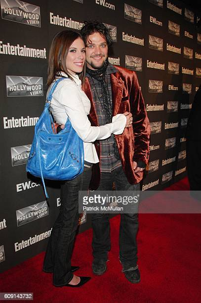 Missy Rothstein and Bam Margera attend Entertainment Weekly annual Academy Awards viewing party at Elaine's NYC on February 25 2007