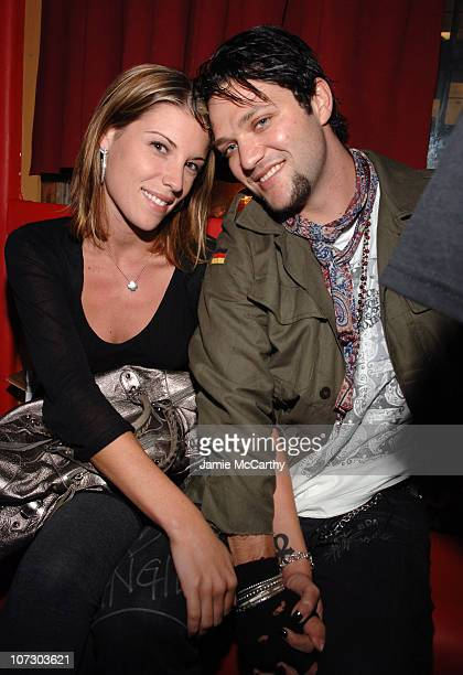 Missy Rothstein and Bam Margera during 2006 MTV Video Music Awards Oakley's PreVMA Bash at Snitch Inside at Snitch in New York City New York United...