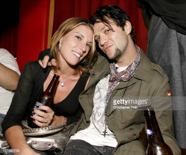 Missy Rothstein and Bam Margera during 2006 MTV Video Music Awards Oakley's PreVMA Bash at Snitch at Snitch in New York City New York United States