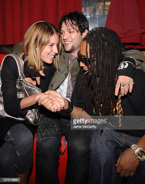 Missy Rothstein Bam Margera and Lil Jon during 2006 MTV Video Music Awards Oakley's PreVMA Bash at Snitch Inside at Snitch in New York City New York...