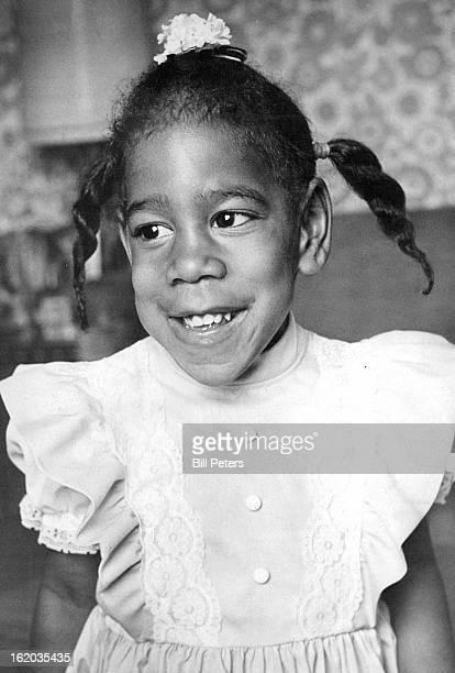JUN 15 1976 JUN 16 1976 JUN 17 1976 Missy's Eyes Shine As She Greets Visitors She is friendly child who enjoys playing outdoors