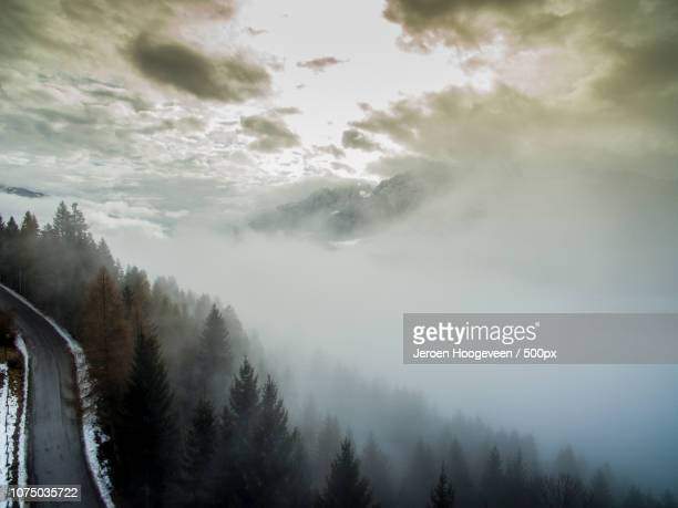 mist austria - hoogeveen stock pictures, royalty-free photos & images
