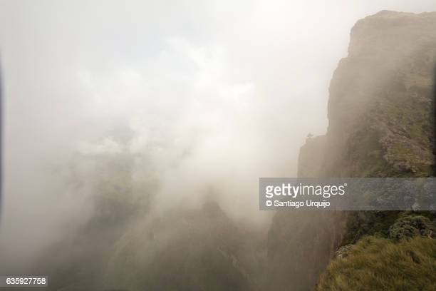 Mist in Simien Mountains