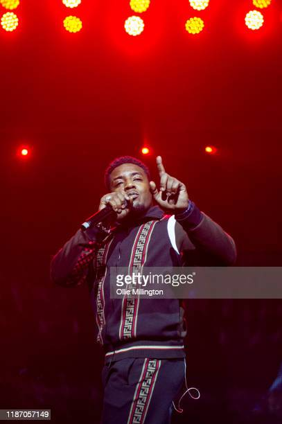 Mist performs at O2 Academy Brixton on November 11, 2019 in London, England.